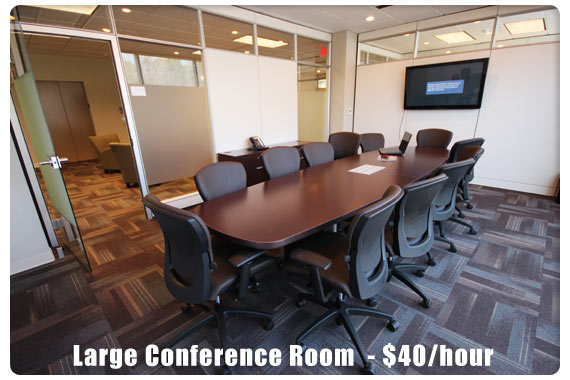 Large Conference Room  - $40/hour