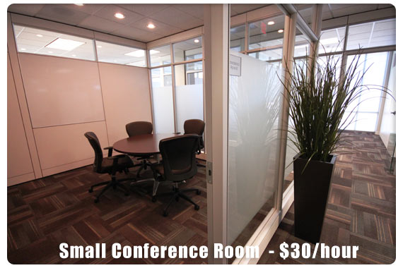 Small Conference Room  - $30/hour
