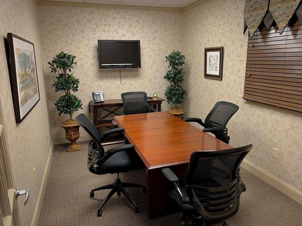Conference Room - 4 Seats - Byron Office Space Solutions