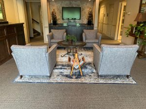 Business Center Lobby - Byron Office Space Solutions